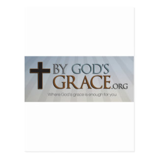 By God's Grace Collection Postcard