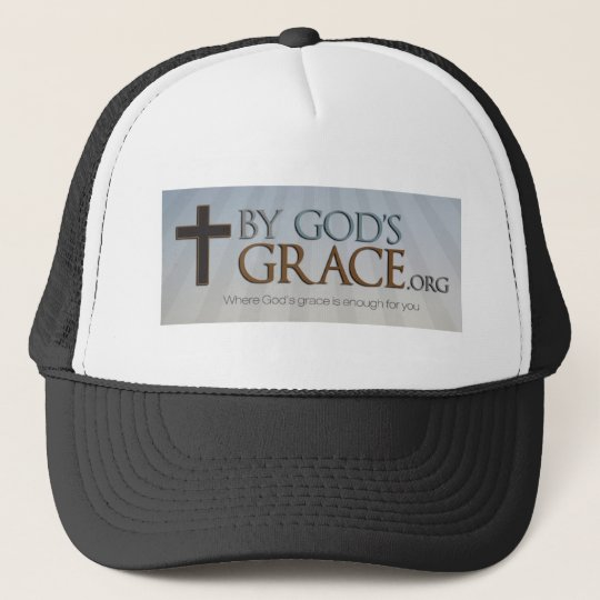By God's Grace Collection Trucker Hat