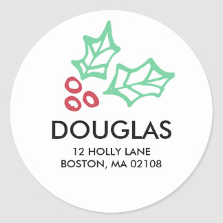 By Golly Collection Classic Round Sticker