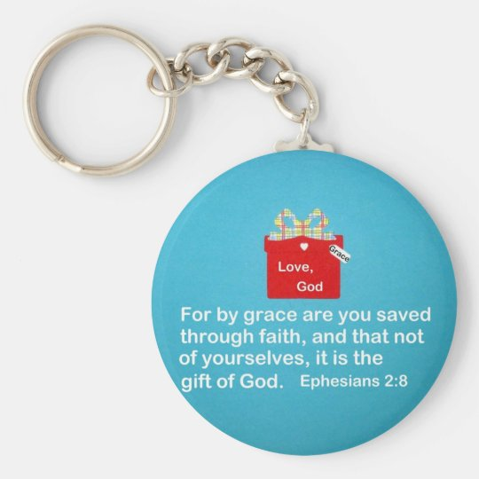 By Grace are You Saved Keychain