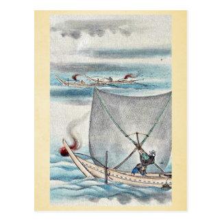 by Hasegawa Settei Ukiyo-e Post Cards