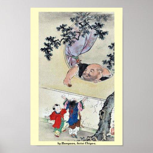 by Hasegawa, Settei Ukiyo-e. Print