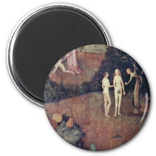 By Hieronymus Bosch (Best Quality) Fridge Magnets