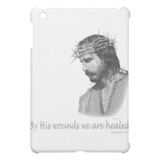 By His wound we are healed iPad Mini Cases