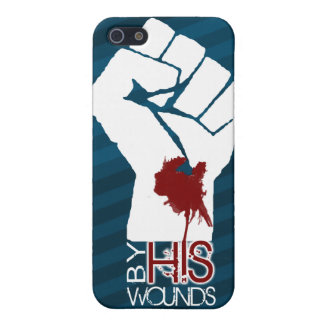 By His Wounds iPhone 5 Cover