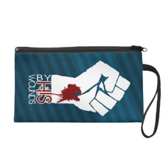 By His Wounds... we are healed Wristlett Wristlet Purse