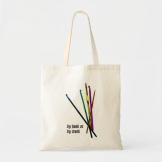 By Hook or By Crook Tote Canvas Bags