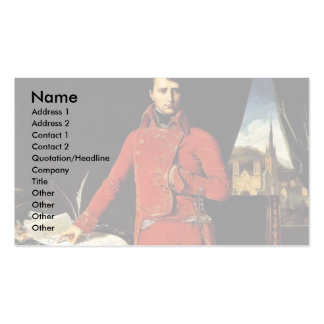 By Ingres Jean Auguste Dominique (Best Quality) Business Card Template