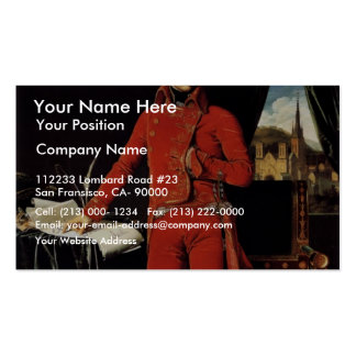 By Ingres Jean Auguste Dominique (Best Quality) Business Cards