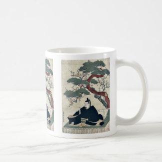 by Kitao, Shigemasa Ukiyo-e. Classic White Coffee Mug