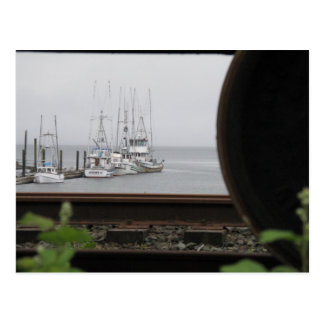 By Land or By Sea Post Card