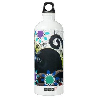 By Lori Everett_ Day Of The Dead, Black Cat, Bird SIGG Traveler 1.0L Water Bottle