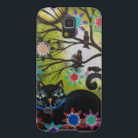"By Lori Everett_ Day Of The Dead,Mexican,Black Cat Galaxy S5 Cover<br><div class=""desc"">~About The Artist~ Lori Everett Living in Columbus, Ohio, she is a self-taught artist, married for 25 years with a son Josh she LOVES very much. She has been painting and selling whimsical folk art for many years on ebay. Primitive Folk Art is her passion. She has a special love...</div>"