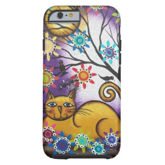 By Lori Everett_ Day Of The Dead_Mexican_Cat Tough iPhone 6 Case