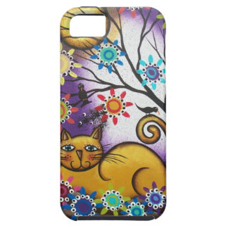 By Lori Everett_ Day Of The Dead_Mexican_Cat iPhone 5 Covers