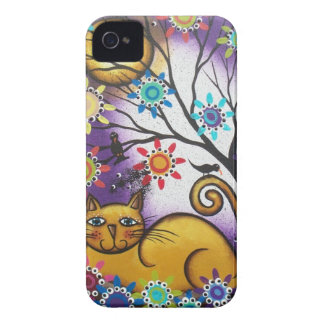 By Lori Everett_ Day Of The Dead_Mexican_Cat iPhone 4 Case-Mate Case