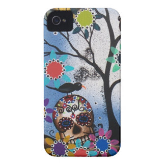 By Lori Everett_ Day Of The Dead,Mexican,Skull,DOD iPhone 4 Case-Mate Case