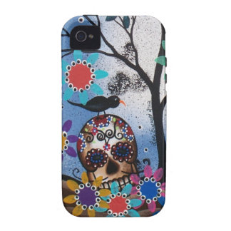 By Lori Everett_ Day Of The Dead,Mexican,Skull,DOD iPhone 4/4S Covers