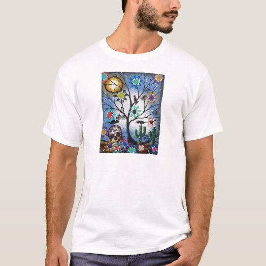 By Lori Everett_ Day Of The Dead,Mexican,Skull,DOD T-Shirt