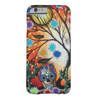 By Lori Everett_ Day Of The Dead,Skull,Mexican,DOD Barely There iPhone 6 Case