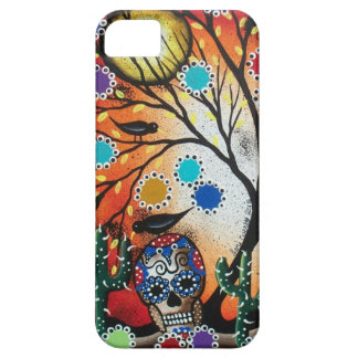 By Lori Everett_ Day Of The Dead,Skull,Mexican,DOD iPhone 5 Covers