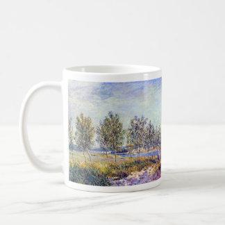 By meadow by Alfred Sisley Mug