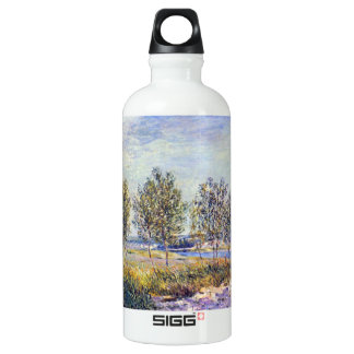 By meadow by Alfred Sisley SIGG Traveler 0.6L Water Bottle