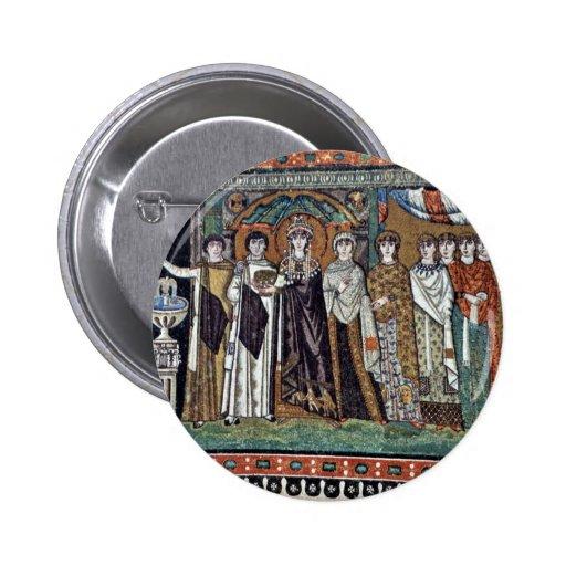 By Meister Von San Vitale In Ravenna (Best Quality 2 Inch Round Button
