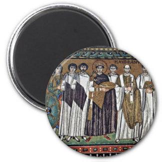 By Meister Von San Vitale In Ravenna (Best Quality Magnet