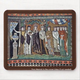 By Meister Von San Vitale In Ravenna (Best Quality Mouse Pad