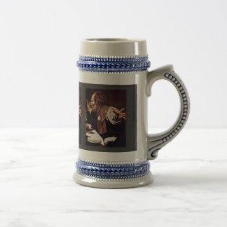 By Michelangelo Merisi Da Caravaggio 18 Oz Beer Stein