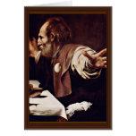 By Michelangelo Merisi Da Caravaggio Greeting Cards