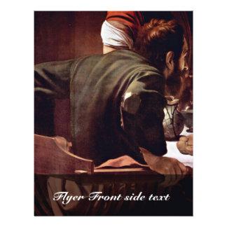 By Michelangelo Merisi Da Caravaggio Personalized Flyer