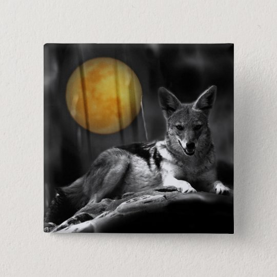 By Moonlight Pinback Button