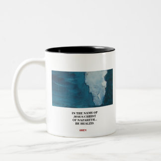 BY MY SPIRIT - IN THE NAME -1118 Two-Tone COFFEE MUG