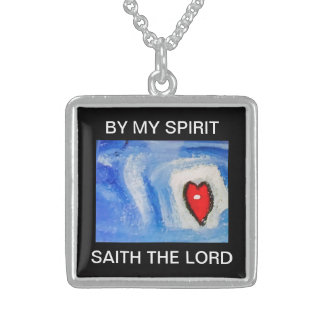BY MY SPIRIT STERLING SILVER NECKLACE