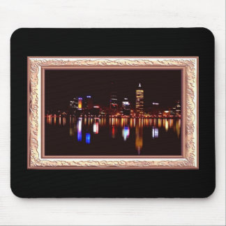 By Night Reflects Mousepad