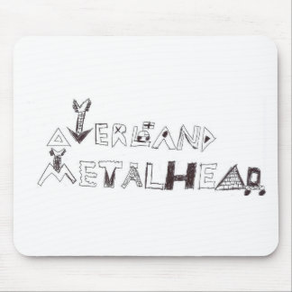 By Overland Metalhead Mouse Pad