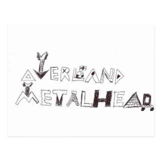 By Overland Metalhead Postcard