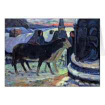By Paul Gauguin (Best Quality) Card