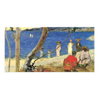 By Paul Gauguin (Best Quality) Photo Card Template