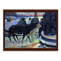 By Paul Gauguin (Best Quality) Postcard