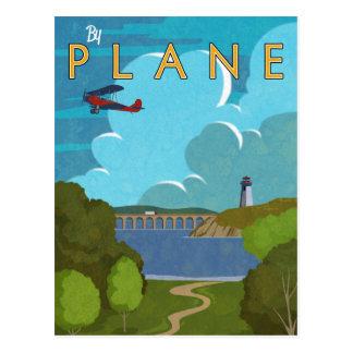 By Plane Postcard