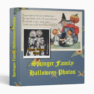 By Pumpkin Fat Vintage Halloween Keepsake Binder