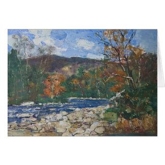 By River Fall Stanislav Stanek Card