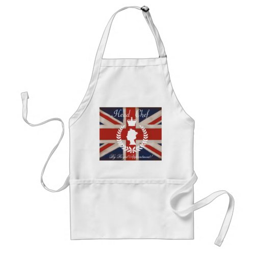 By Royal Appointment, Head Chef aprons