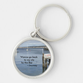 By The Bay Keychain