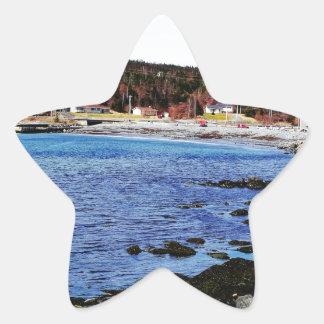 By The Beach Star Sticker