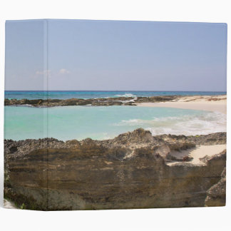 By The Caribbean Sea 3 Ring Binder