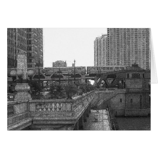 By the Chicago River... Card